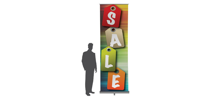 Extra Tall Retractable Banner Stand